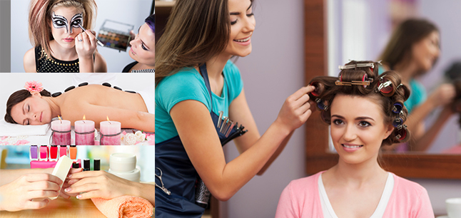Planit : Career Areas : Hairdressing, Beauty and Wellbeing
