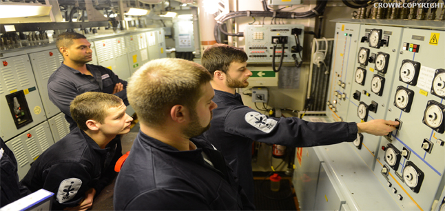 Planit : Job Profiles : Royal Navy Rating Armed Services