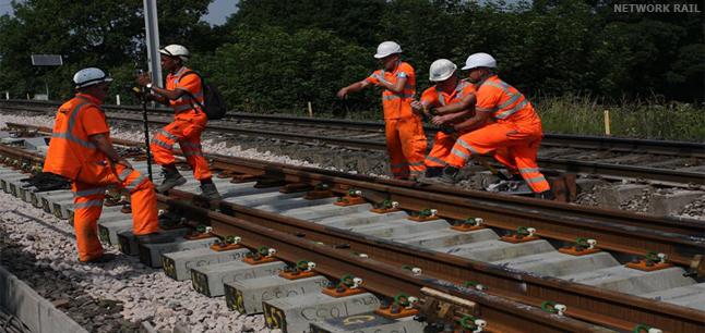 Railroad Track Maintenance Training : Planit job profiles track maintenance operative rail