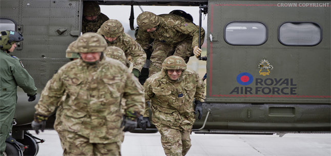 job profile image royal air force raf officers carry